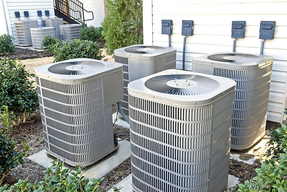 Air Conditioning Units In Apartment Comp