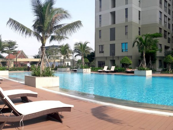 Free Swimming Pool at Masteri Thao Dien
