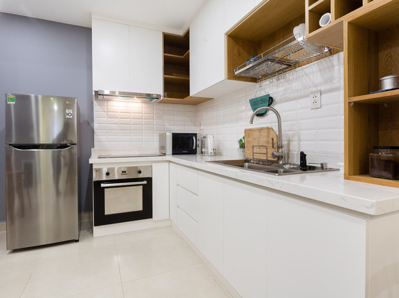 Fully equiped kitchen in house