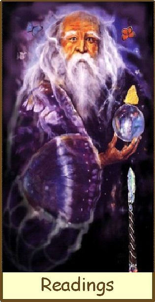 Gamble Hounsome Tarot Deck.  A Man offering Psychic & Mediumship readings at Tarot therapy Ltd
