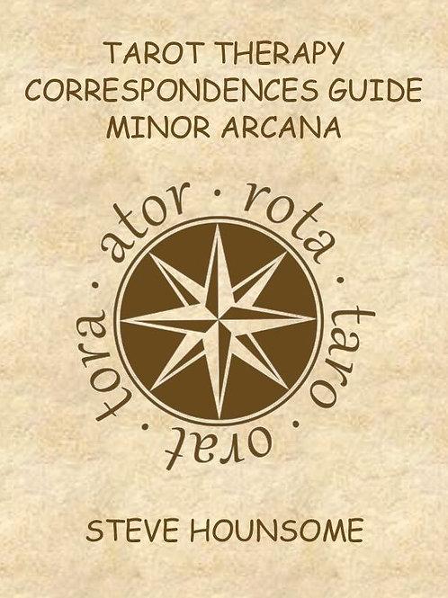Tarot Therapy Correspondences Guide - Minor Arcana