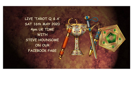 Tarot Q&A - with Steve Hounsome