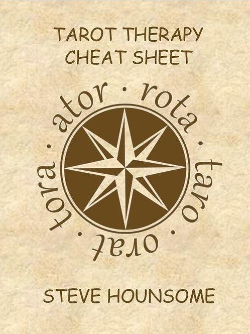 Tarot Therapy 'Cheat Sheet'