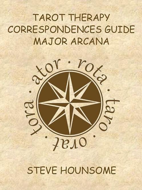 Tarot Therapy Correspondences Guide - Major Arcana