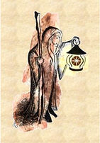 The Hermit. Tarot Therapy Readings / Consultations by Steve Hounsome.  In Person, by Skype or Phone.  Available to all, Worldwide!