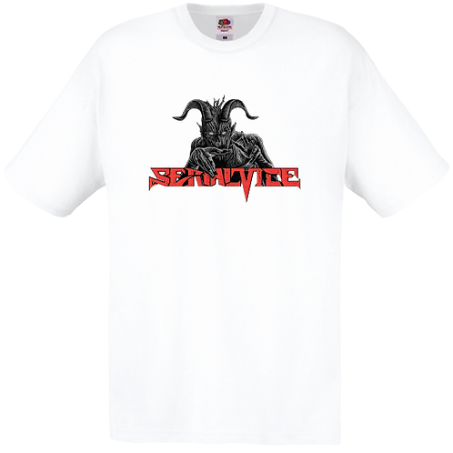 White T-shirt with official logo