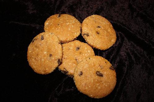 Big Dog Coconut Carob Cookies