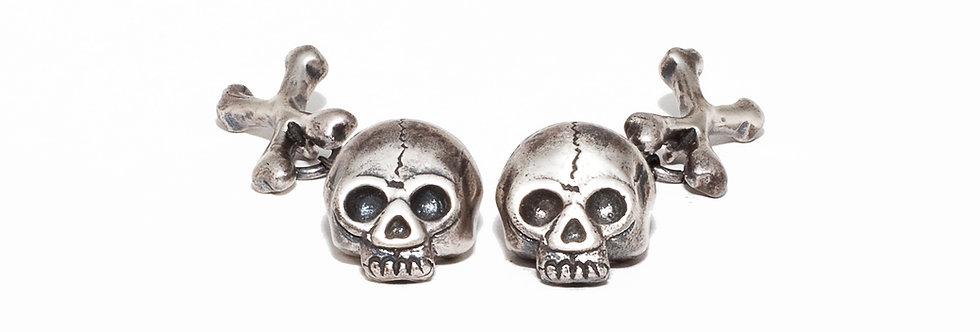 Skull and Cross Bones Cufflinks
