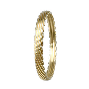 Queta Fabregat Gold cord bangle