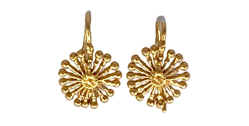 Fire Wheel Earrings