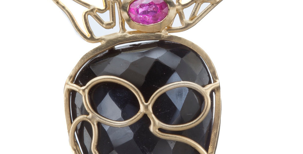Crowned Jester Pendant