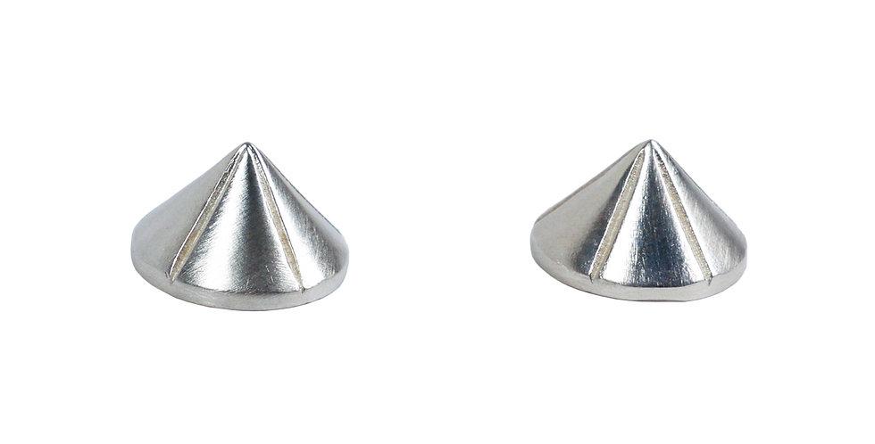 Large Spike Stud Earrings