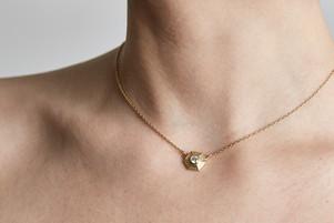 Laura Caspi Sphaera Hex Choker Necklace