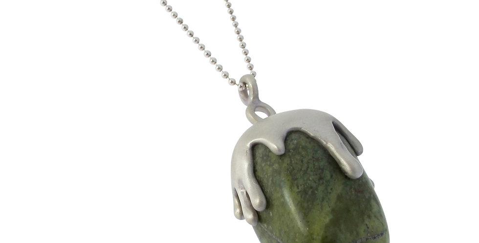 Serpentine Amulet Necklace