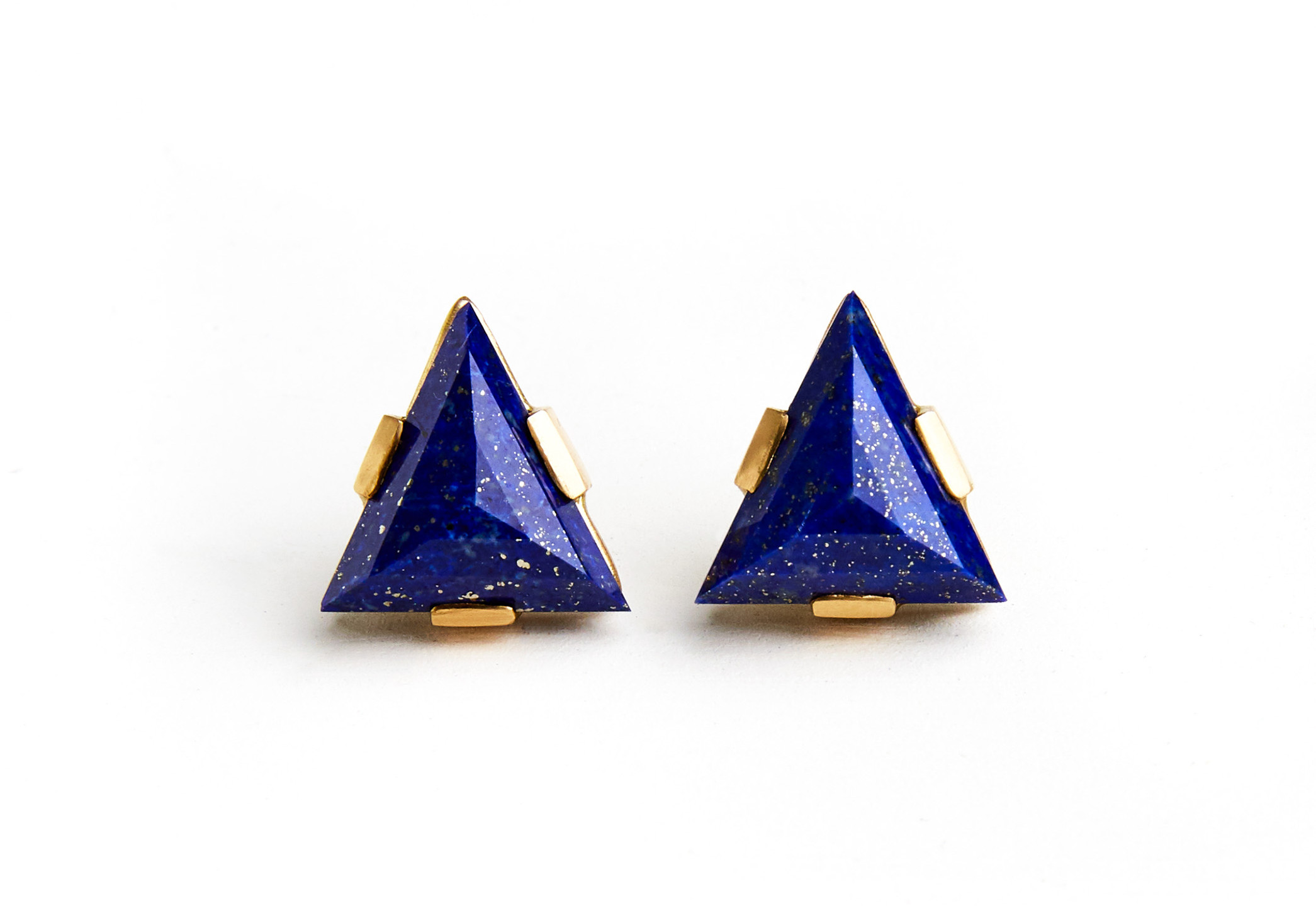 Laura Caspi Lapis Earrings