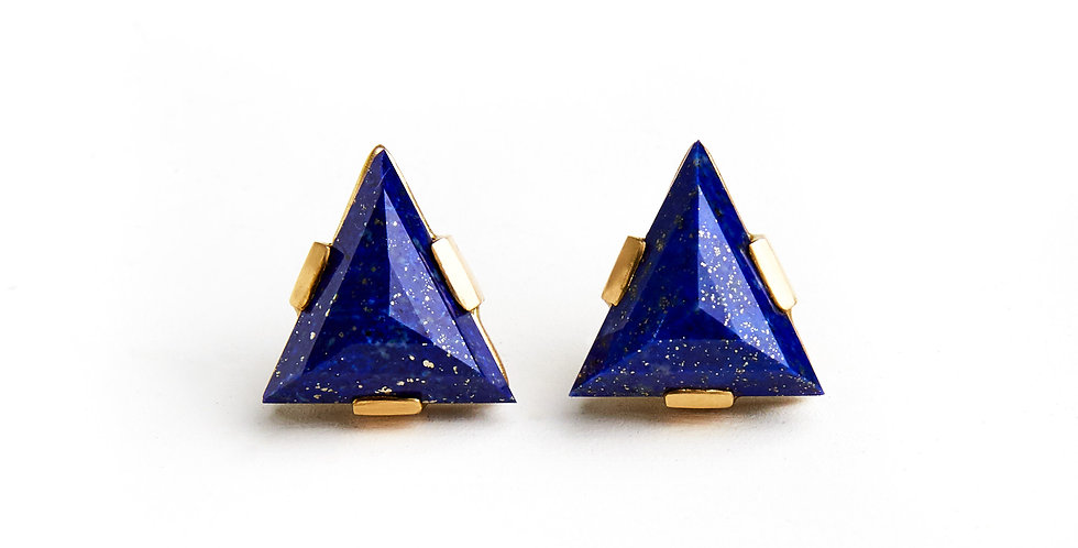 Zod Lapis Earrings