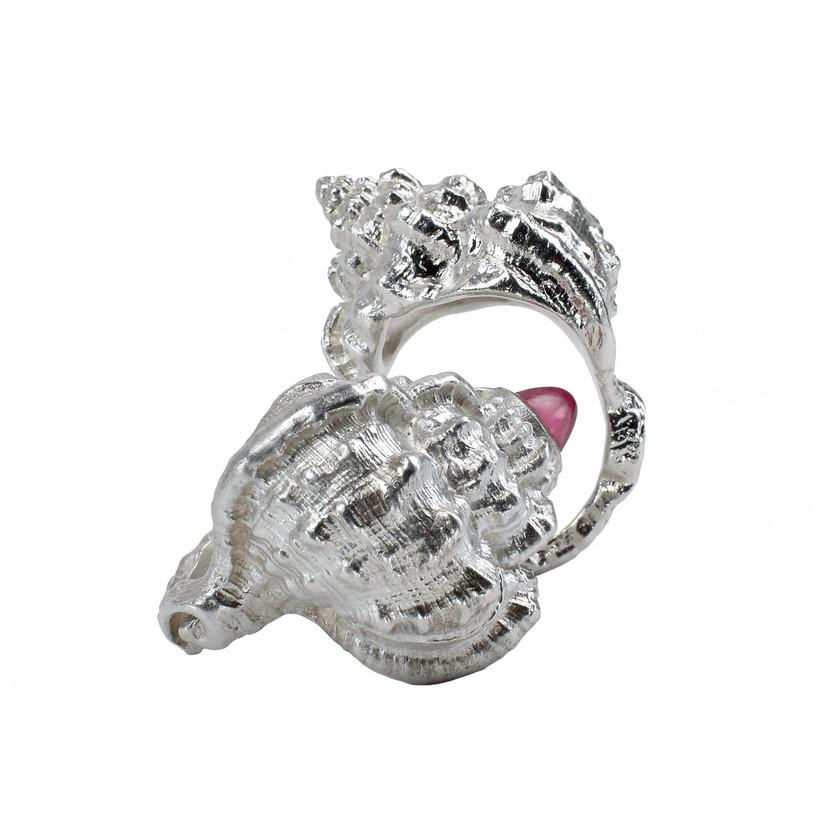 Sandrine B. Shell Rings