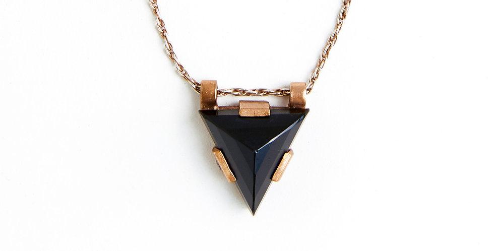 Zod Black Onyx Necklace