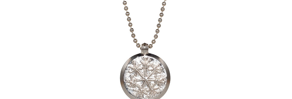Silver Snowflake Pendant