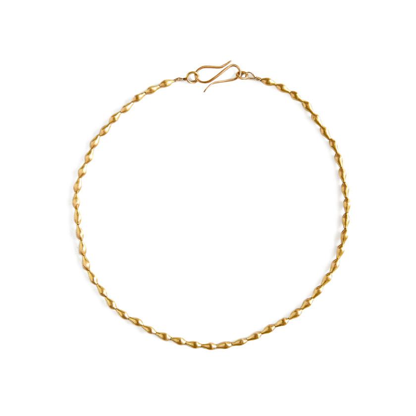 22k Gold Pod Necklace