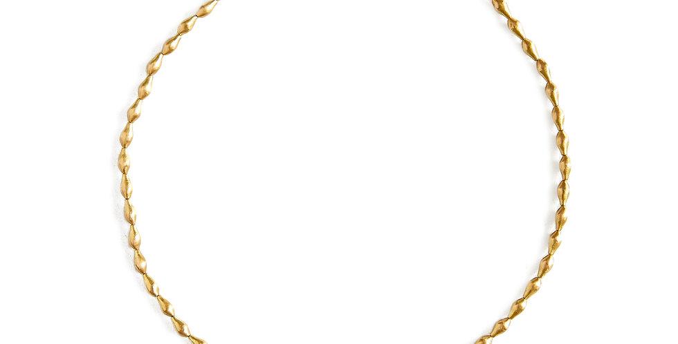 Gold Pod Necklace