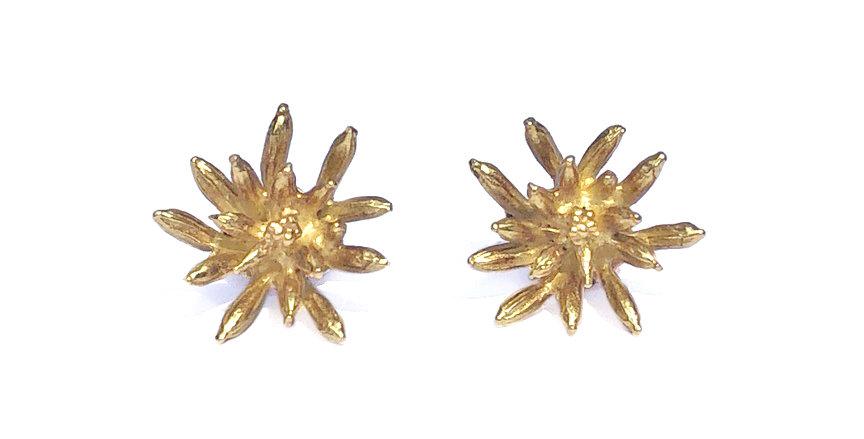 Gold Caraway Stud Earrings
