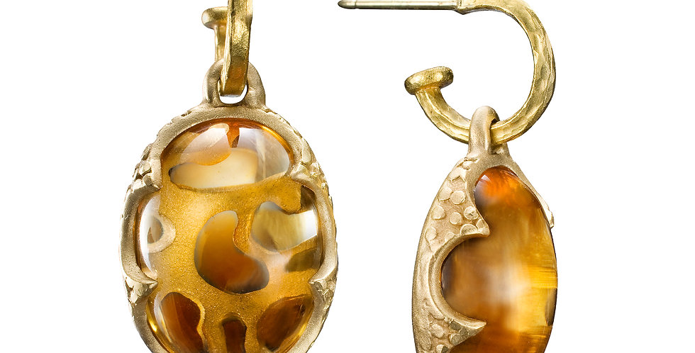 Citrine Galapagos Earrings