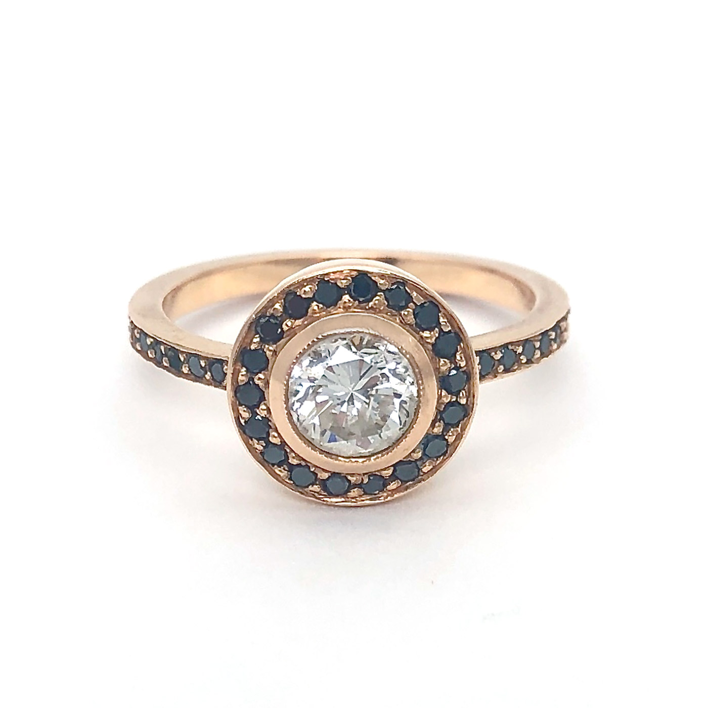 Rachel Beck Diamond Sapph Ring