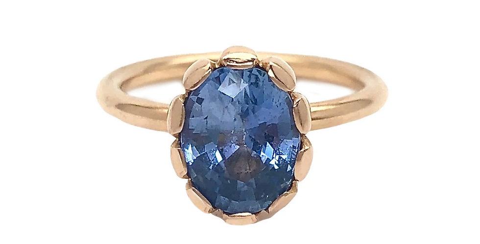Blue Sapphire Aphrodite Ring