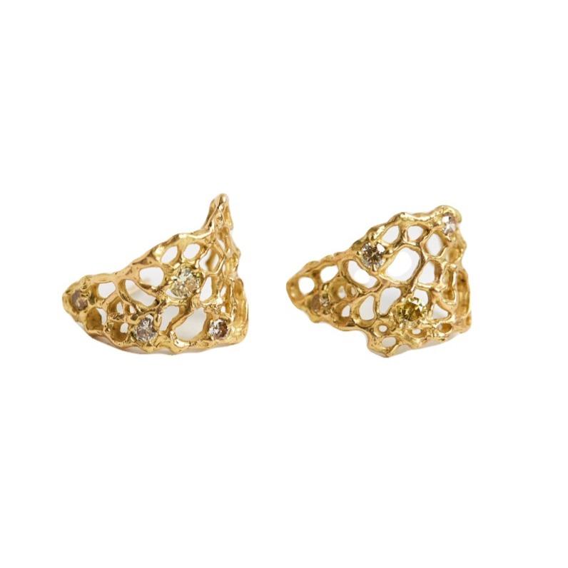 Laura Caspi Sea Fan Earrings