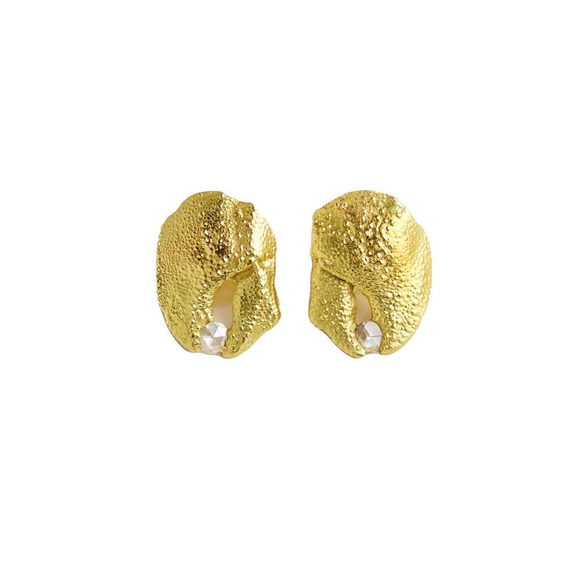 Laura Caspi Claw Earrings