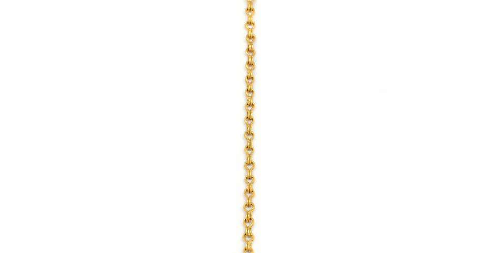 Flare Rose Cut Diamond Necklace