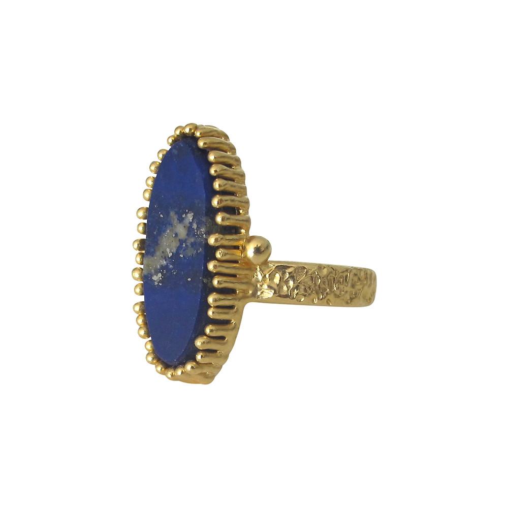 Susan Meier 22k gold Lapis Lazuli Ring