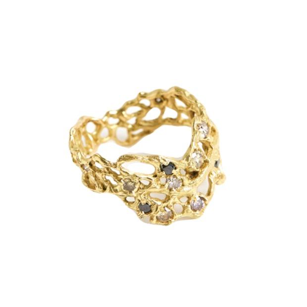 Laura Caspi Sea Fan Ring