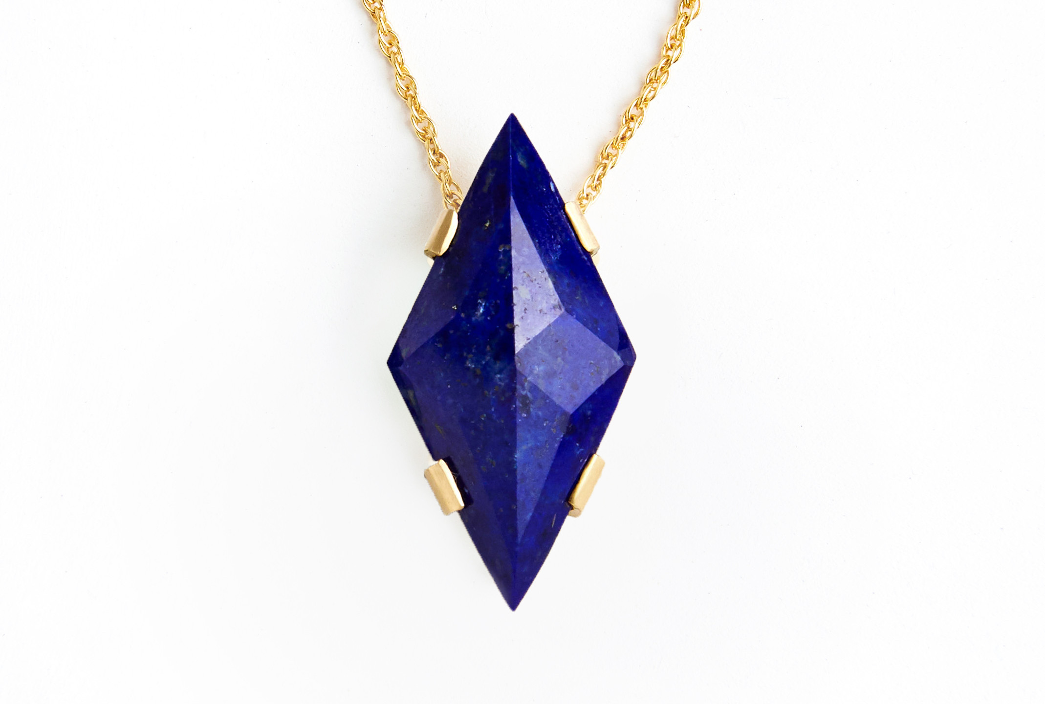 Laura Caspi Lapis Necklace