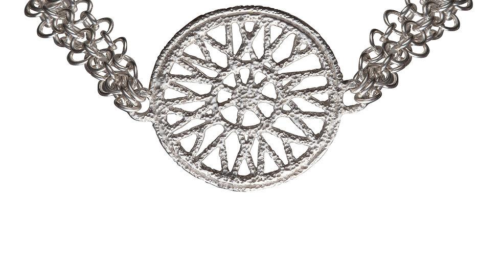 Silver Cycle Bracelet
