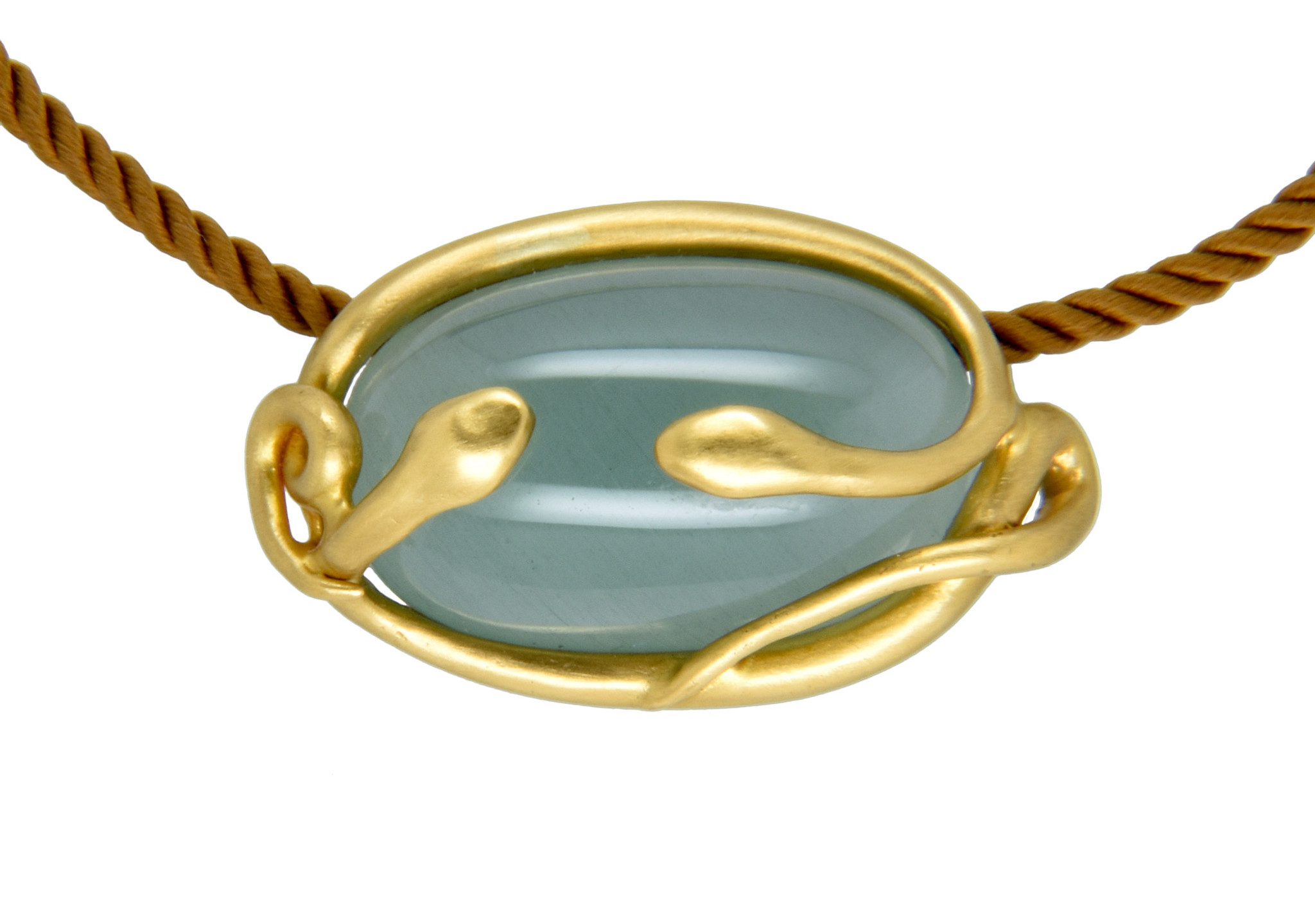 Taryn Leavitt Aqua Necklace