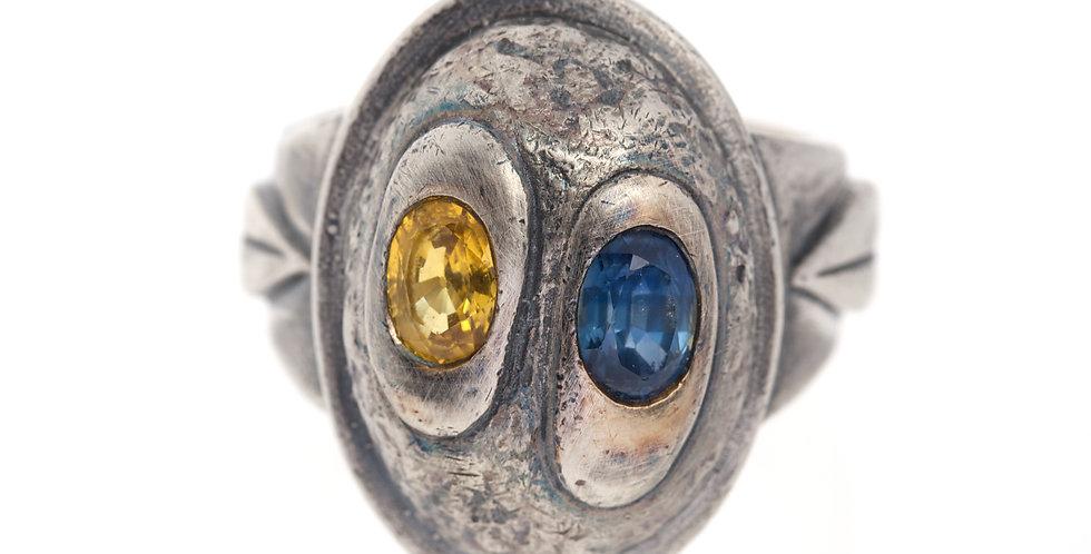 Gemstone African Warrior Ring