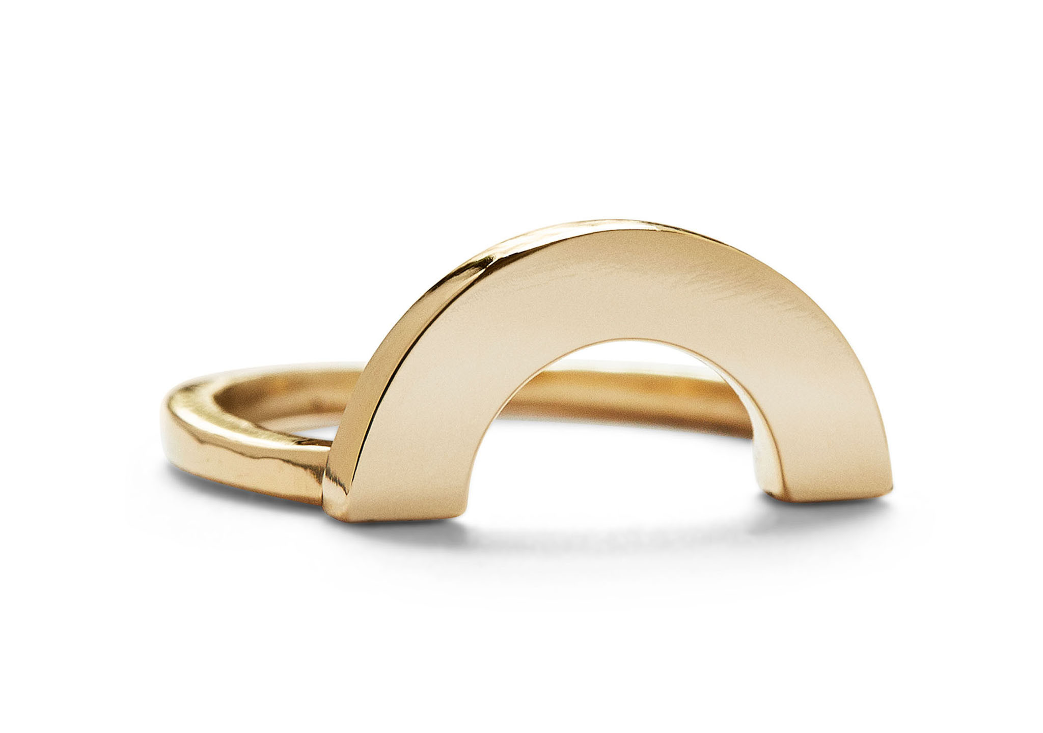Casual Seance Gold Rainbow Ring
