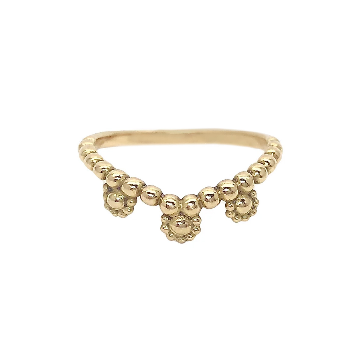 Rachel Beck's Gold Nirvana Ring