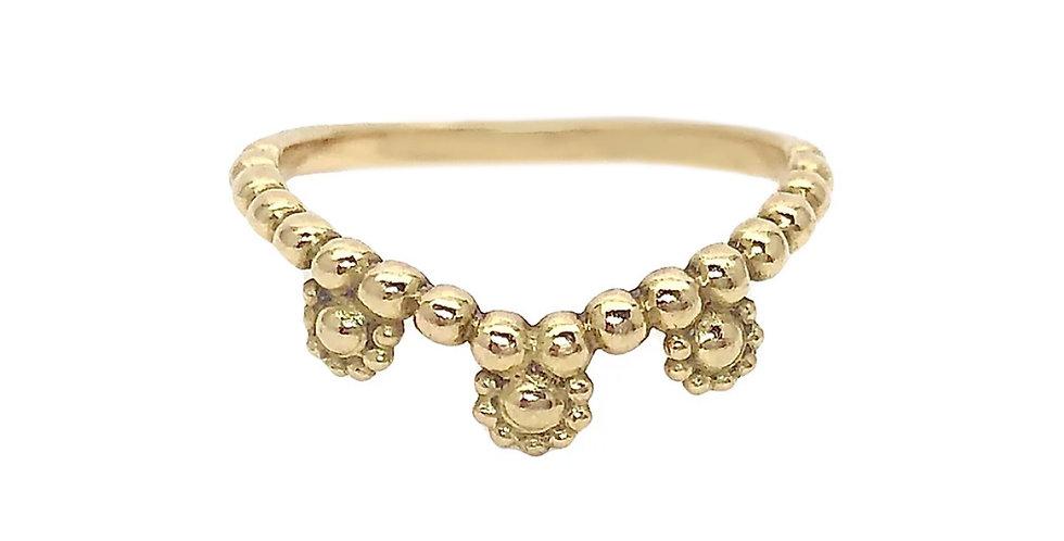Gold Nirvana Stack Ring