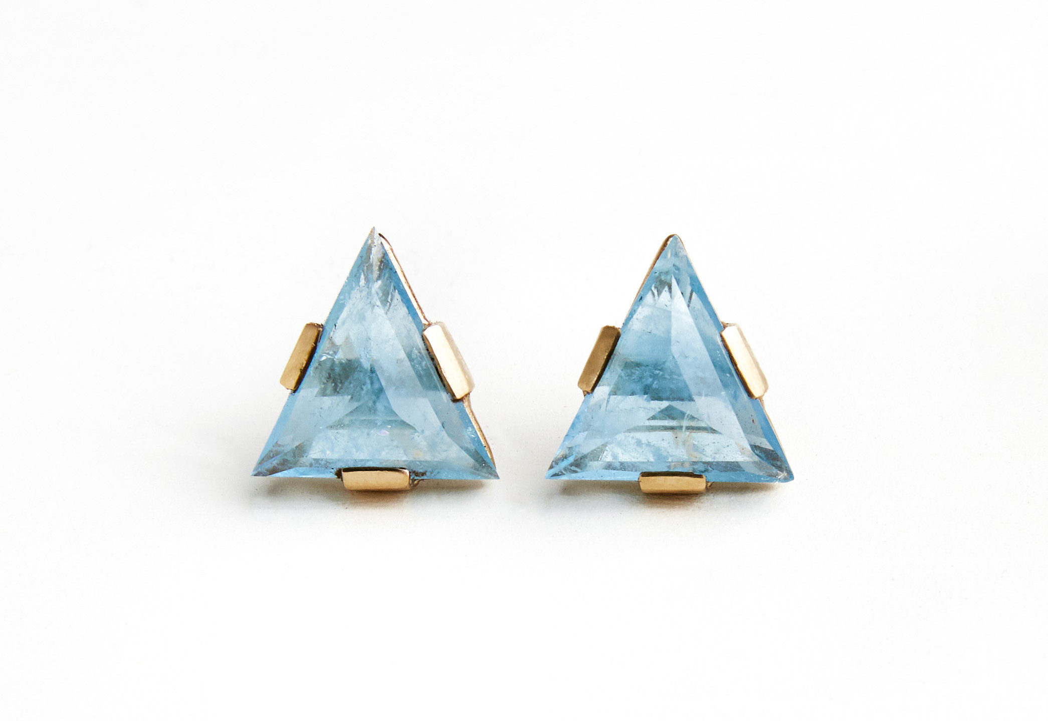 Laura Caspi Aqua Earrings