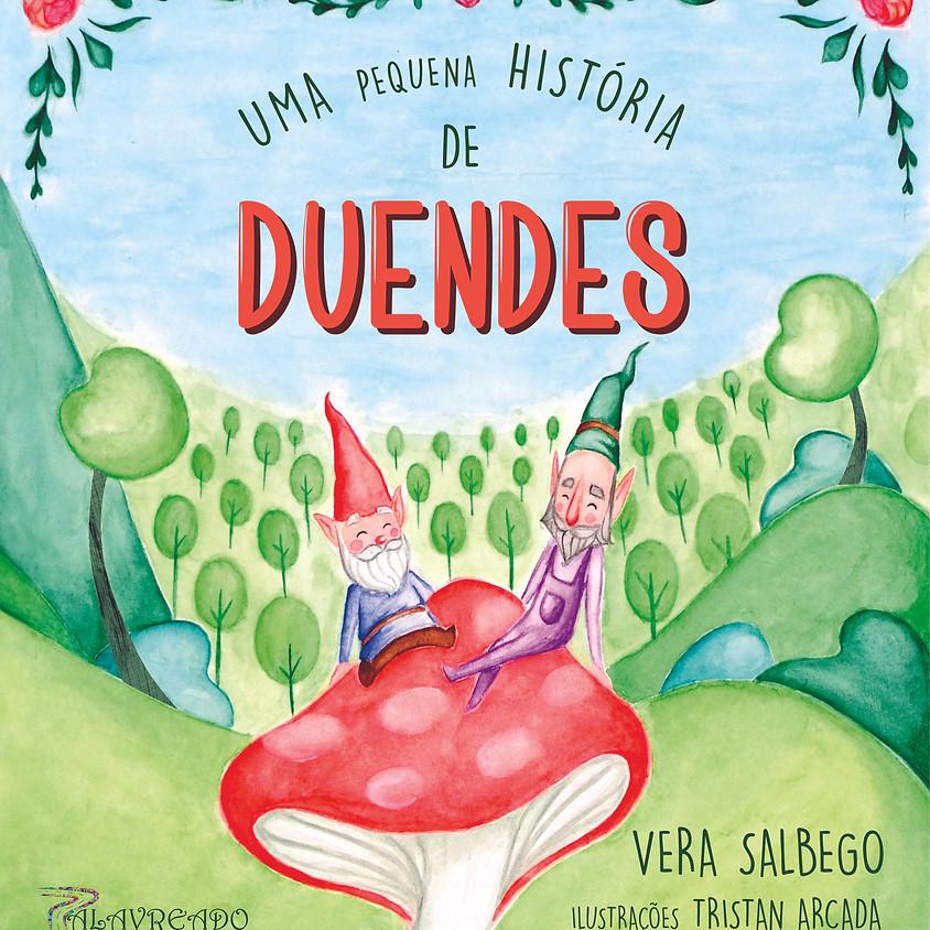 """Lançamento do livro """"Uma pequena história de duendes"""""""