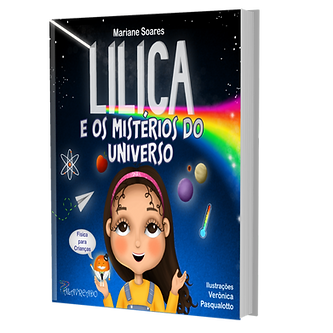 Capa 3D Lilica e os Mistérios do Univers
