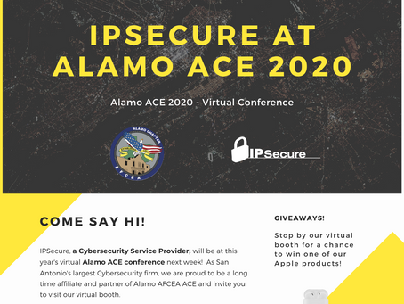IPSecure at Alamo ACE 2020 virtual conference!