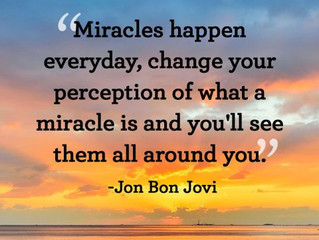 Tuning in for Everyday Miracles
