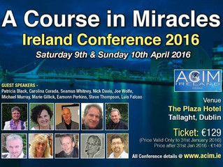 ACIM Ireland 2016