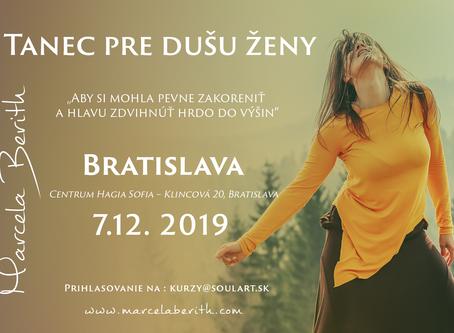 Tanec pre Dušu Ženy v Bratislave