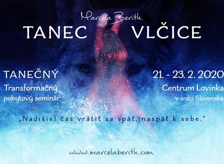 Tanec Vlčice v srdci Slovenska