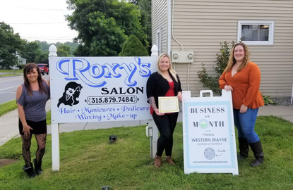 August 2021 Business of the Month